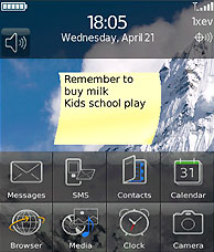 Add a Sticky Note to Your Home Screen