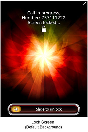 TalkLock - Touch Screen Lock for BlackBerry Touch Screen Devices
